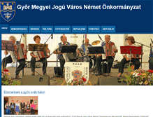 Tablet Preview of nemetonkormanyzatgyor.hu